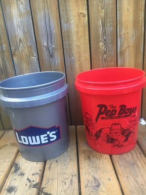 5 gallon buckets for Sale in Germantown, MD