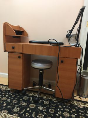 Dressing Table/ working station/Nail Station for Sale in Rockville, MD