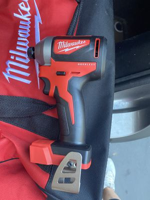 Milwaukee M18 Brushless Impact Tool Only New for Sale in San Diego, CA