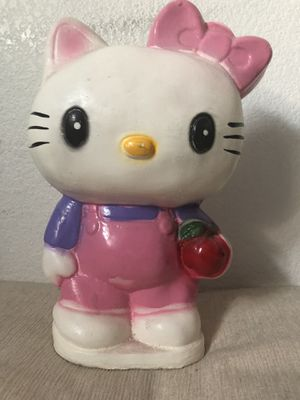 Hand Made Hello Kitty Piggy Bank Statue Collectable for Sale in Las Vegas, NV