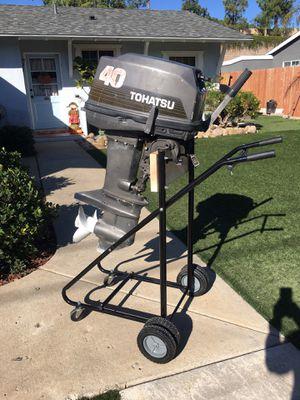Tohotsu 40 hp outboard motor for Sale in Poway, CA