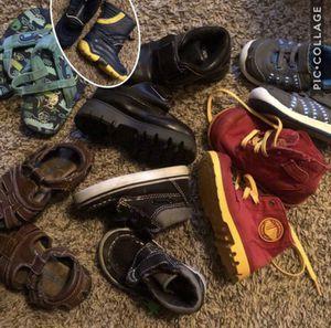 Boys Kids Toddler Shoes Size 5/6 Lace Up Velcro Slip On Scott David Children's Place TKS Palladium Dress Boots Tennis Sandals Flip Flip Rain Boot for Sale in Katy, TX