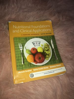 Nutritional Foundations and Clinical Applications for Sale in Duncanville, TX