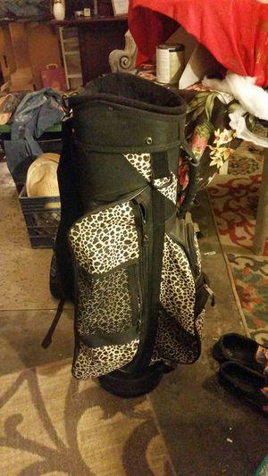 Bennington cheetah print golfing bag for Sale in Saint Albans, WV
