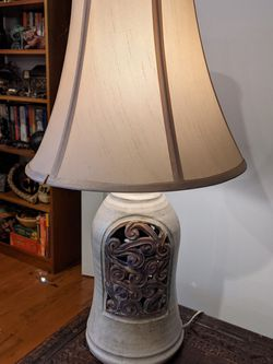 Ceramic Table Lamp With Shade for Sale in Washington,  DC