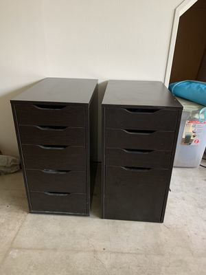 IKEA desk drawer units for Sale in Portland, OR