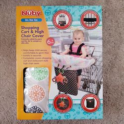 Nuby Shopping Cart & High Chair Cover for Baby for Sale in Mauldin,  SC