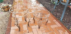 Free iron plant stands for Sale in Lakeside, CA