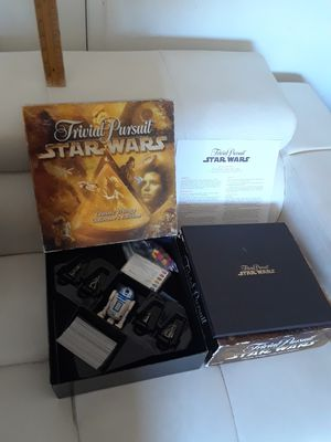 Star wars trivial pursuit game for Sale in Los Angeles, CA