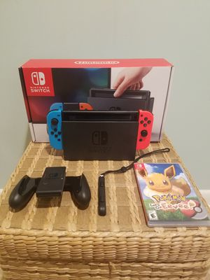 Nintendo Switch Lets Go Evee Bundle (negotiable) for Sale in Freehold, NJ
