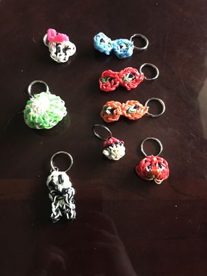 Rubber band key chains for Sale in Gallipolis, OH