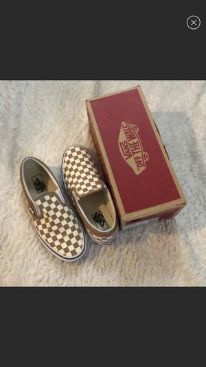 Checkered vans for Sale in Walnut, CA