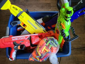 Boys & Girls Toys Nerf Guns Huge Lot for Sale in Anaheim, CA