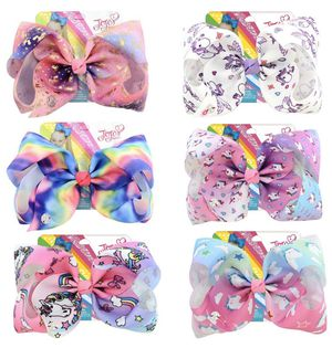 "Large 8"" JoJo Siwa Clip Hair Bows 🎀 for Sale in Long Beach, CA"