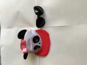 American girl doll panda hat with sunglasses for Sale in Silver Spring, MD