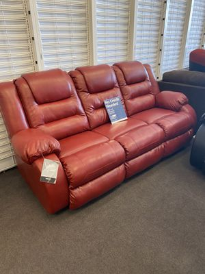 New Red Reclining Loveseat and Sofa for Sale in Maryland Heights, MO