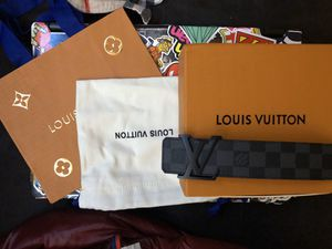 Louis Vuitton Initials Belt Damier Graphite for Sale in Yeadon, PA
