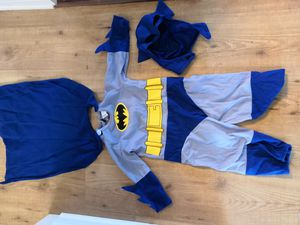Batman halloween costume toddler size for Sale in Oak Forest, IL