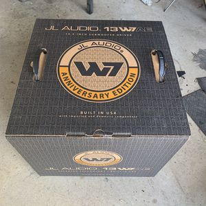 """JL AUDIO 13W7AE 13.5"""" Subwoofer for Sale in Fort Worth, TX"""
