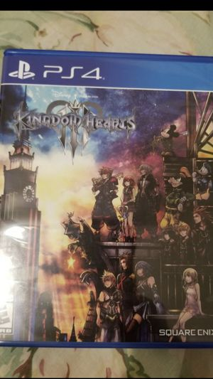 Kingdom Hearts 3 PS4 for Sale in Seattle, WA