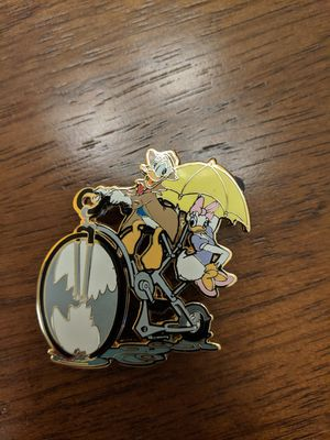 Disney LE 250 pin Donald Duck and Daisy on bicycle for Sale in Glendale, AZ