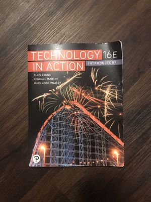 Technology in Action 16th Edition Introductory textbook for Sale in Phoenix, AZ