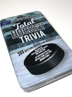 Sports Series Testing Total Hockey Trivia - 300 Questions on Everything HOCKEY! for Sale in Aventura,  FL