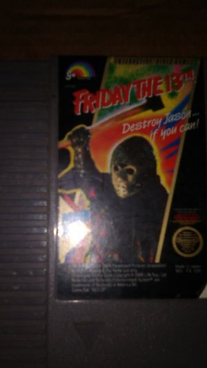 Friday the 13th super nintendo for Sale in Mitchell, IL