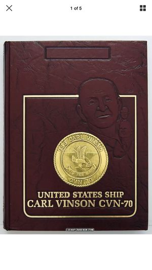 Carl Vinson Chronicles for Sale in San Diego, CA