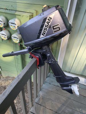 Nissan 5hp Outboard Motor for Sale in Nashville, TN