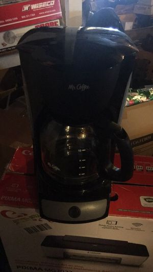 Mr.Coffee coffee maker. Brand new. Make an offer! for Sale in Kingsport, TN