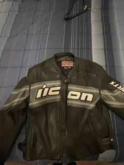 Icon Leather Daytona Jacket XL for Sale in Buford,  GA