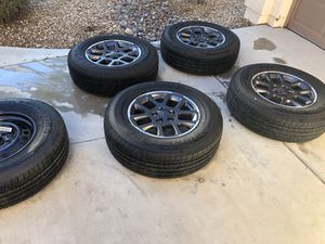 Jeep Gladiator Overland Wheels and Tires for Sale in Henderson, NV