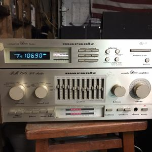 Marantz PM 700 DC Receiver , and Marantz St 5 Stereo Tuner. for Sale in Newport News, VA