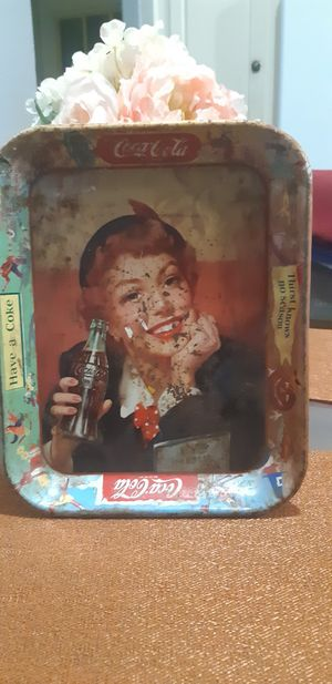 Original antique Coca-Cola serving tray for Sale in Colton, CA