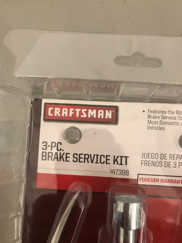 Craftsman 3-pc brake service kit
