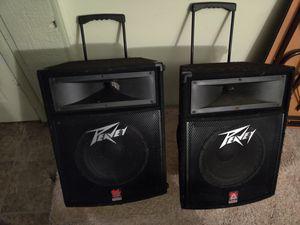 Pair of Peavey TLS 2 speakers for Sale in Fort Wayne, IN