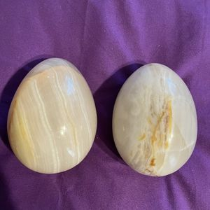 Onyx Stone Eggs Large for Sale in Stockton, CA