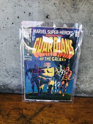 Marvel Comic Books: Marvel Super-Heroes Presents: Guardians of the Galaxy #1 Origin and Debut of the GOTG for Sale in Richmond, CA