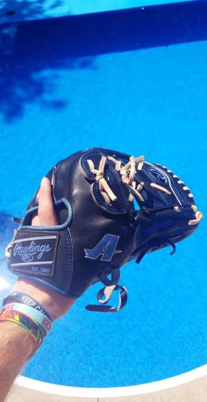 Rawlings heart of the hide 11.5 assumptions college issue baseball glove for Sale in Moore, OK