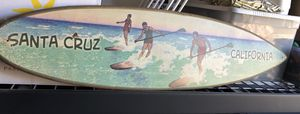 Decorative surfboard, Santa Cruz for Sale in Fresno, CA