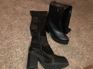 Thigh high boots size 8 for Sale in Lutz, FL