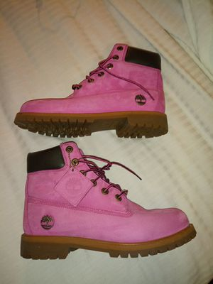 Pink Timberland Susan G Komen For the Cure Boots for Sale in Dallas, TX