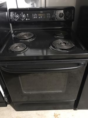 GE kitchen black appliance , stove, dishwasher only for Sale in Lewisville, TX