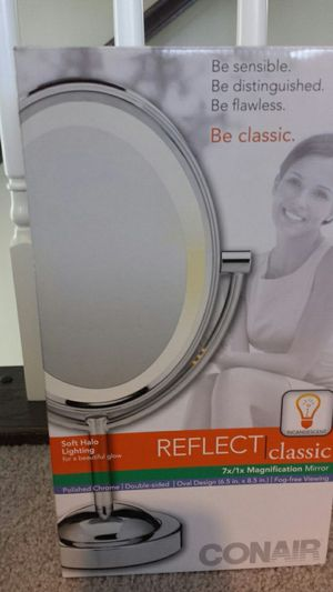 Conair double sided magnification mirror for Sale in Millersville, MD