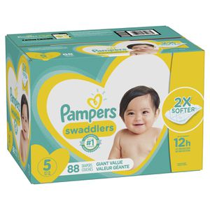 PAMPERS SIZE 5 DIAPERS for Sale in Buena Park, CA