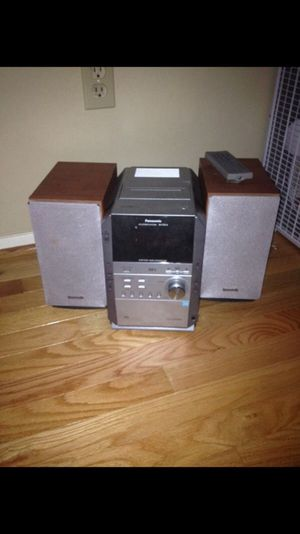 Panasonic CD Stereo System for Sale in Springfield, VA