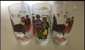 Christmas Collectibles: 3 Glasses for Sale in Sacramento, CA