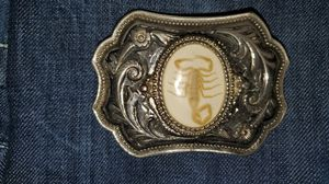 Antique or late model belt buckles. Being such nice pieces I am asking 40 for all 3 for Sale in Sheridan, AR