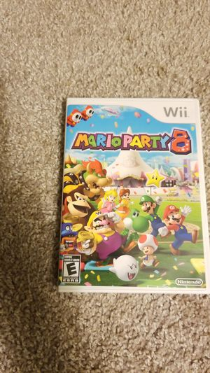 Mario party 8 for wii for Sale in Marietta, GA
